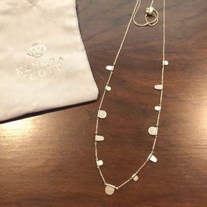 Kendra Scott Gold Olive Necklace
